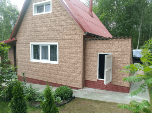 Фасадная панель Ю-пласт Стоун Хаус Сланец Бежевый