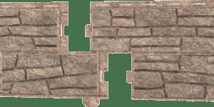 Фасадная панель Ю-пласт Стоун Хаус Сланец Бурный
