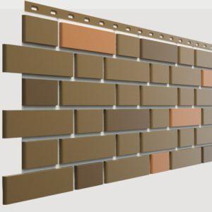 Фасадная панель Docke-R Flemish Коричневый пестрый