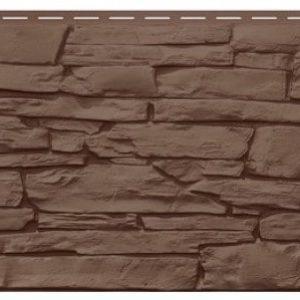 Фасадная панель VILO Stone Коричневый