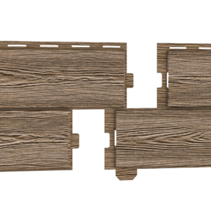 Фасадная панель Ю-пласт Хокла Лиственница Медовая