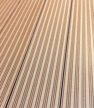 Террасная доска ДПК Faynag Zebra Шоколад 3 м