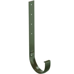 Кронштейн желоба Docke Standard D120/80 мм длинный металлический зеленый