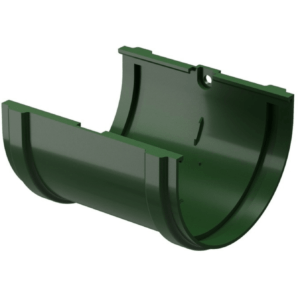Соединитель желоба Docke ПВХ Standard D120/80 мм зеленый