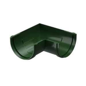 Угол желоба Docke Standard ПВХ D120/80 мм универсальный 90 градусов зеленый