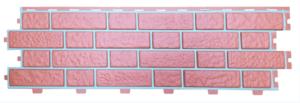 Панель фасадная Tecos German brick collection Кирпич Мюнхенский