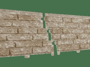Фасадная панель Стоун-хаус Кварцит Светло-бежевый