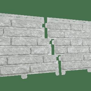 Фасадная панель Стоун-хаус Кварцит Светло-серый