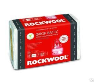 Утеплитель Rockwool Флор Баттс 25 мм