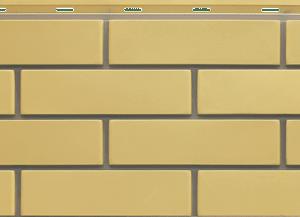 Фасадная панель Steindorf кирпич Желтый