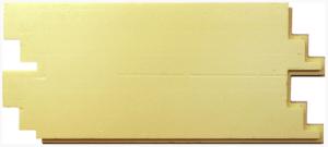 Термосайдинг Доломит Венецианский кирпич Серый 20 мм
