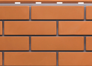 Фасадная панель Steindorf кирпич красный