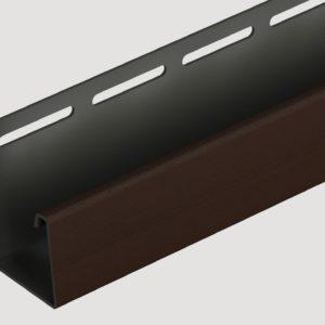 J-профиль Döcke для фасадных панелей Шоколадный
