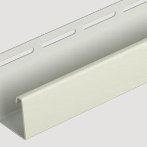J-профиль Döcke для фасадных панелей Слоновая кость