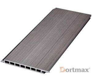 Фасадная доска из ДПК TWINSON древесно-серый