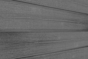 Фасадная доска из ДПК Savewood Sorbus радиальный распил Пепельный