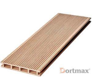 Террасная доска из ДПК Dortmax Velvet Standart Натуральный