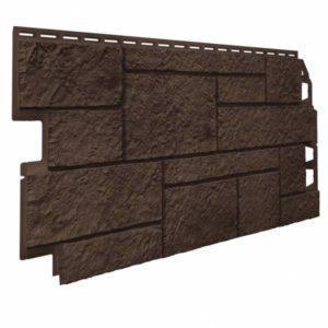 Фасадная панель Vilo Sandstone Тёмно-коричневый